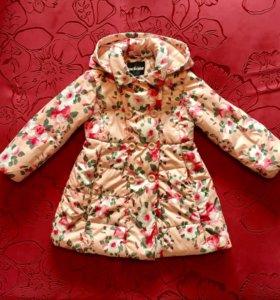 Пальто для девочки 104см Acoola