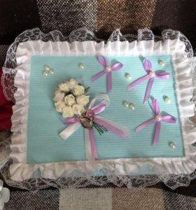 Свадебная коробочка для подарков