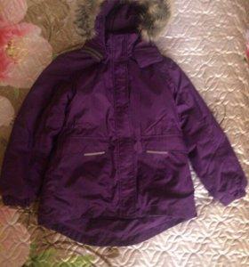 Зимняя парка(куртка) Lassie 134см.