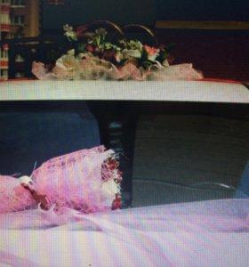 Свадебные кольца на машину жениха и невесты