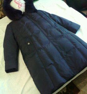 Пальто пуховое 58-60