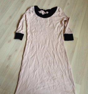 Платье и блуза 44