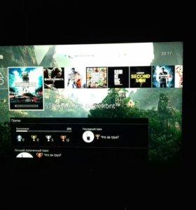 Sony Playstation 4 +куча игр