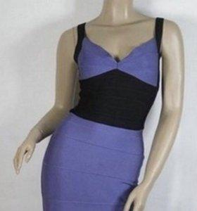 Бандажное платье б/у