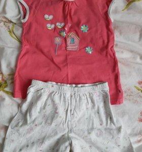 Пижама девочке Mothercare 5-6 лет