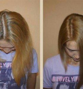 Покраска волос любой длины и густоты