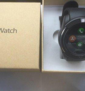 Смарт часы Smart Watch V8 black