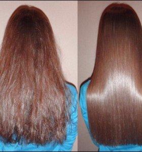 Кератирование, ботокс волос