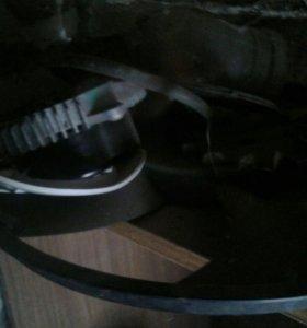 Электроный вентилятор охлаждения радиатора на BMB