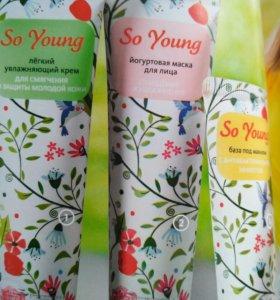 Йогуртная маска для лица до 25лет