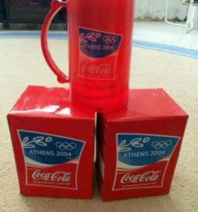 Замораживающаяся олимпийская кружка от Coca -Cola