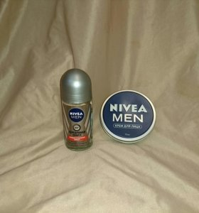 Мужской дезодорант и крем