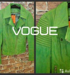 Кожаная куртка MONTESGUIER