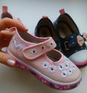 Обувь на девочку р. 22