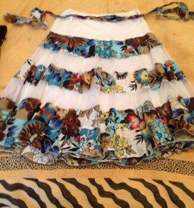 Новая юбка -солнце