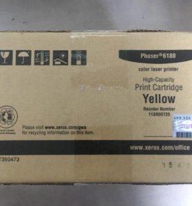 Продаю новый картридж для МФУ Xerox 6180 yellow