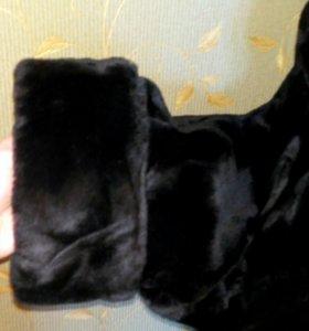 Шуба мутон 54-56 размер