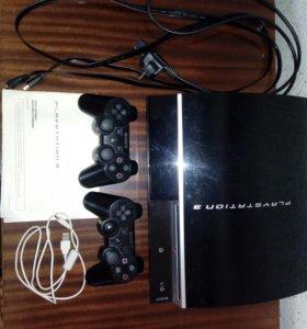 Игровая приставка Sony PlayStation 3 (прошитая)
