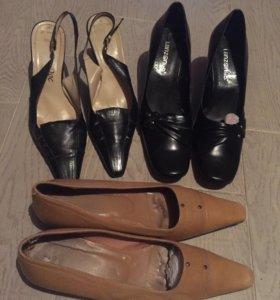 Туфли и босоножки натуральная кожа