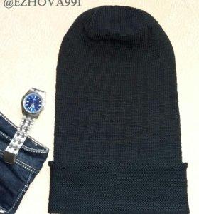 Шапка удлиненная (шапка-чулок)