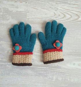 Детские перчатки на девочку