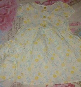 Платье с трусиками под памперсы новое