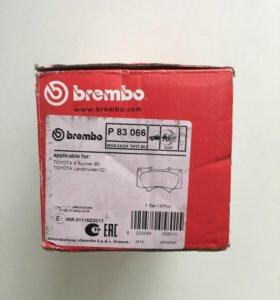 Колодки передние Brembo P83066