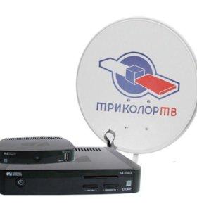 Комплект цифрового ТВ Триколор Full HD E501/C5911