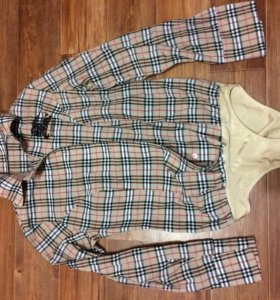 Хлопковая рубашка боди