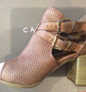 Туфли женские CARNABY из перфорированной кожи р39