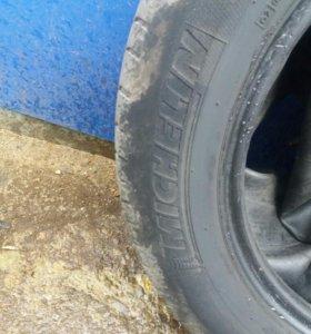 Резина R15 185/65  Michelin 4шт лето