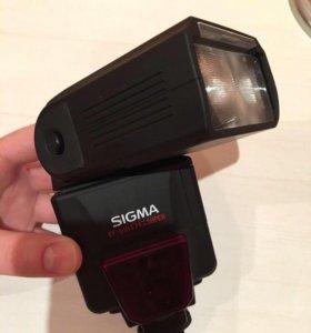 Фотовспышка sigma EF-610 DG super 📸