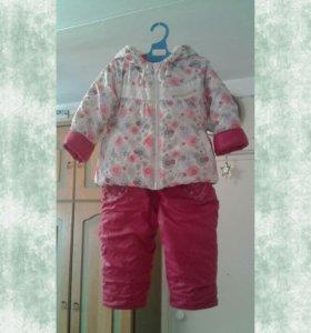 Комплект демисезонный (куртка + полукомбинизон)