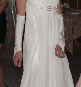 Вечернее (свадебное) платье