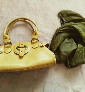 Emilie'm дизайнерская сумочка и платок Франция