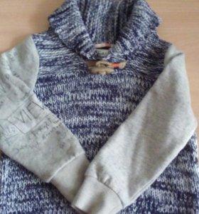 Куртка весна+ шапочка+ свитер