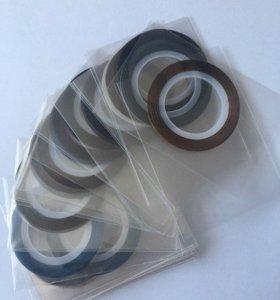 Самоклеющиеся полоски для дизайна ногтей