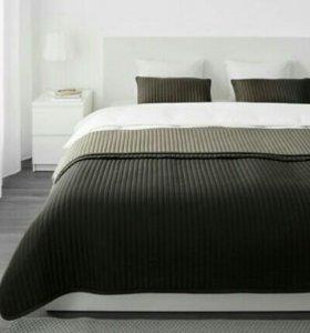 Покрывало на кровать двуспальную KARIT IKEA