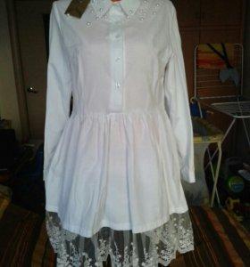 Новая рубашка-платье
