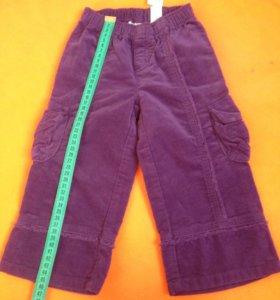 Новые брюки для девочек на 2 года