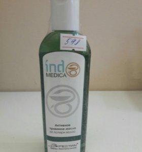 Травяное масло от выпадения волос