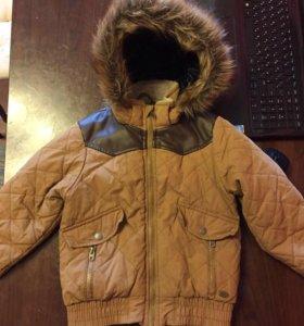 Куртка осенняя на мальчика