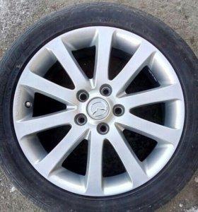 Комплект литых дисков и шин