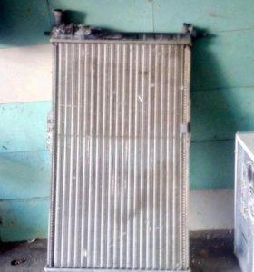Радиатор охлаждения на daewoo nexia