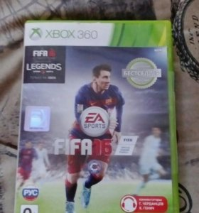 Диск для XBCK360 FIFA16