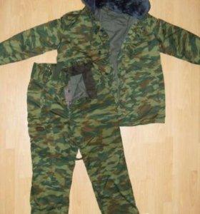 Зимний камуфляжный костюм