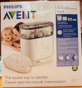 Philips-Avent Электрический стерилизатор 4 в 1 SCF
