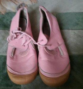 Туфельки розового цвета
