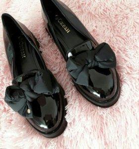 Туфли чёрные в наличии