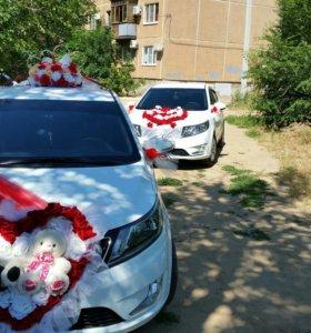Свадебный кортеж,авто на свадьбу и др . мероприят